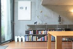 SHELF SYSTEM - Designer Shelving from THISMADE ✓ all information ✓ high-resolution images ✓ CADs ✓ catalogues ✓ contact information ✓. Shelf System, Bookcase, Living Room, Home, Shelves, Home Decor, Furniture Design, Room