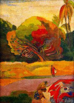 Paul Gauguin - Frauen am Fluß