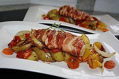 Hähnchenbrust-Gemüse Blech