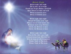 a image of silent night