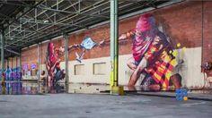 WebBuzz du 15/11/2016: 4 graffeurs, un entrepot désaffecté et un stock illimité de peinture-4 graffiti artists, a disused warehouse and an unlimited stock of paint  Les graffitis sont de plus en plus tendance, et certains artistes parviennent à vivre de leur art…