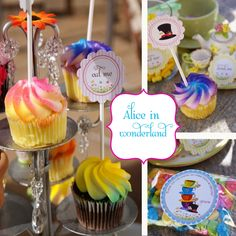 alice in wonderland birthday party - Google Search