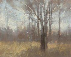 "Daily Paintworks - ""2-23-2 Tree Mood"" - Original Fine Art for Sale - © Marc Hanson"