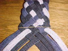 DIY Braiding Eight Cords Into A Flat Braid DIY Crafts