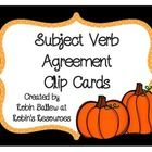 Freebie: These 30 cards address subject/verb agreement with verbs is, am, are, was, were, has, have, and had. The vocabulary is controlled for struggling re...