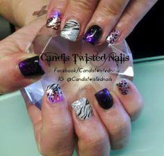 Recreation with a Twist by TwistedNails - Nail Art Gallery nailartgallery.nailsmag.com by Nails Magazine www.nailsmag.com #nailart