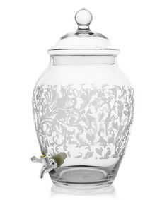 Take a look at this Grahamsville Glass Beverage Dispenser by Jay Import on #zulily today!