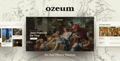 Ozeum | Art Gallery and Museum WordPress Theme Themes Themes, Cool Themes, Paint Photography, Photography Portfolio, Online Gallery, Art Gallery, Slider, Web Design, Art Web