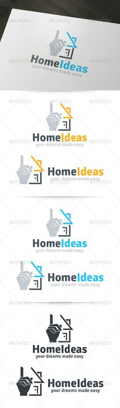 Home Ideas Logo  #GraphicRiver        About Ther