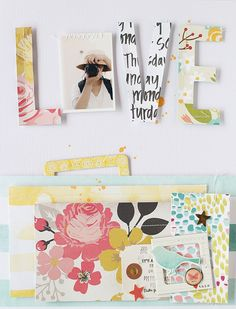 PHOTO + PAPER + STAMP = CRAFTTIME!!!: LAYOUT - LOVE