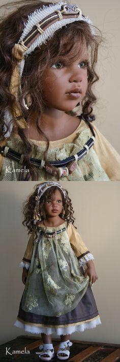"Zawieruszynski - ""Kamela"" - 2009  32 inches tall Vinyl Doll - LE"