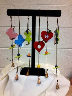 Wind-chimes made for you at the Arc of High Point Art Programs, High Point, Creative Art, Wind Chimes