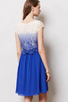 Azure Wisp Dress - Anthropologie.com