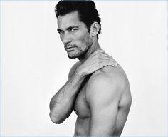David Gandy Goes Nude for Mario Testino's Towel Series