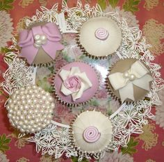 Everyone will also get these Beautiful looking elegant cupcakes on my Birthday!