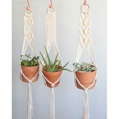boho macrame plant hanger weaving tutorial - Google Search