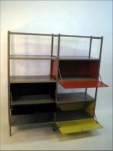 """Vintage """" Gispen #663 """" kast  design by Willem #Rietveld  jaren '50"""