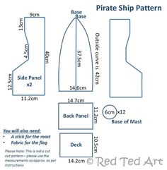 How to... Make a Pirate Boat - Red Ted Art's Blog