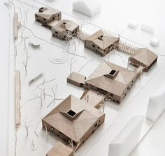 LETH & GORI is a danish architecture office based in Copenhagen Architecture Student, Concept Architecture, Architecture Drawings, Landscape Architecture, Architecture Design, Architecture Collage, Chinese Architecture, Architectural Elements, Architectural Models