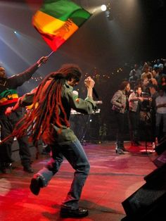 Damian Marley Concert. Them crazy dreads...very impressive