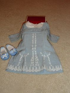 AMERICAN GIRL CAROLINE BIRTHDAY DRESS  NEW IN BOX -NRFB