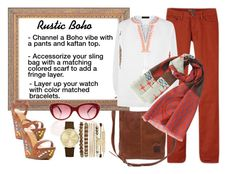 Designer Clothes, Shoes & Bags for Women Rustic Fashion, Accessorize Bags, Lorraine, Kaftan, Style Ideas, Scarves, Boho, Clothing, Polyvore