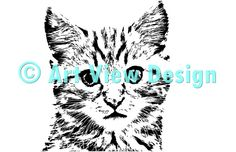 Our Kitten Design || Original and one of a kind || Pattern can be used for everything and every cutting machine || ♡