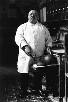 """August Sander  Pastry Cook, 1928  8 x 10"""" Silver Print  Posthumous Print  Printed 1996"""