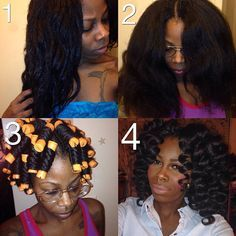"""""""Can you wash crochet braids while they are still in your hair? The answer is YES!!! I've had mine in for about two weeks and decided it was time for a…"""""""
