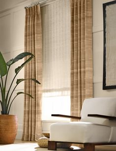Hartmann & Forbes available through Egg & Dart. Window coverings.