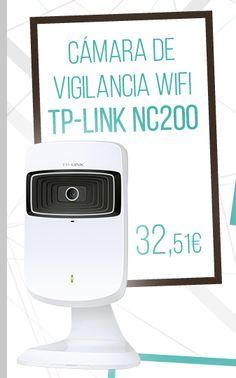 #Camara de Red Wireless N TP-Link NC200. http://www.opirata.com/es/camara-wireless-tplink-nc200-p-33907.html