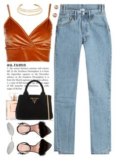 """Pumpkin Spice 🍂🎃 (Join My Group ""Classy Never Trashy"")"" by love-rebelwolf ❤ liked on Polyvore featuring Prada, Vetements, Boohoo, Nina Ricci, Kenneth Jay Lane, Bloomingdale's and Acne Studios"