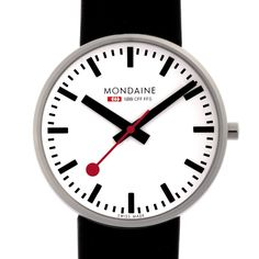 The Swiss Railway Clock, as reproduced by Mondaine in household clocks and watches, is a great case study for some handy Sketch techniques. So let's build this clock! Mondaine Wall Clock, Swiss Railway Clock, Swiss Clock, Red Wall Clock, Wall Clocks, Swiss Railways, Kitchen Clocks, Swiss Design, Kartell