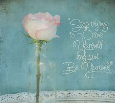 From the fall 2013 issue of Artful Blogging, JUST BE YOU!