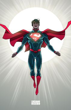 Superman Commission - Color by LucianoVecchio on DeviantArt Superman Art, Superman Man Of Steel, Superman Stuff, Marvel Dc, Superman Pictures, The Wicked The Divine, Action Comics 1, Dc Comics Heroes, Clark Kent