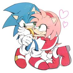 About sonamy on pinterest sonic and amy sonic boom and amy rose
