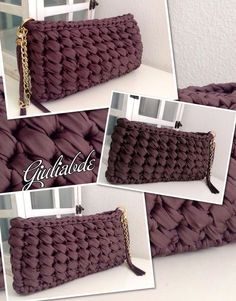 Discover thousands of images about Filiz&Ömer Kaya İnstagram Sayfam Crochet Clutch Bags, Bag Crochet, Crochet Handbags, Crochet Purses, Crochet Clothes, Linen Stitch, Yarn Bag, Fabric Yarn, Knitted Bags