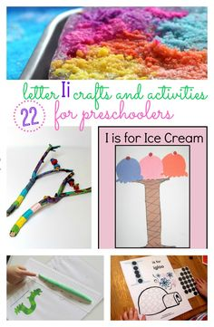 22 Letter I Crafts and Activities for Preschoolers