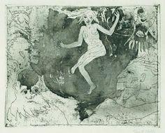 emil nolde - macabre dance, 1918