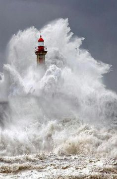 "Lighthouse. ""My soul was steadfastly protected within the upright tower that had been built by His steadfast love."""