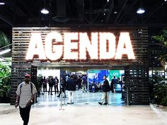 Today, Agenda Long Beach,last held in July,opened with over 750 exhibitors at 9:00AM at the Long Beach Convention Center. It's set to last until 6:00PM Friday for an exclusive group of buyers, distributors, press and pre-approved exhibiting staff.