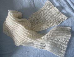 Skjerf, henne pattern by Aud B Aud, High Socks, Silk, Pattern, Design, Fashion, Moda, Thigh High Socks, Fashion Styles