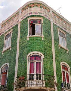 House in Lagos, Algarve, Portugal.