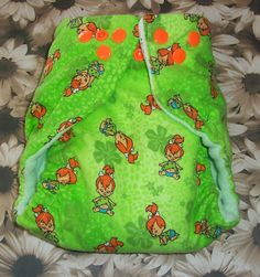 Custom Cloth DiaperPebbles from the Flintstones  by loschiquitos, $9.25 Modern Cloth Nappies, Cloth Diapers, Trending Outfits, Etsy, Handmade Gifts, Clothes, Girls, Kid Craft Gifts, Outfits