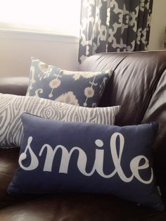 Wonder reminder when your feeling down. Personalize your own pillow at http://www.visionbedding.com/PhotoPillows.php