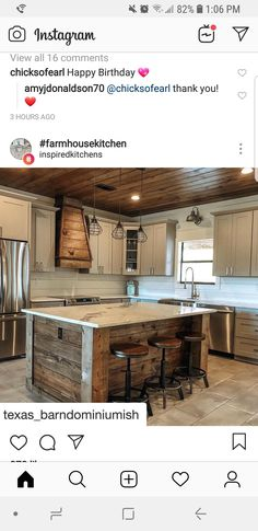 Pole Barn Homes, Rustic Kitchen, Kitchen Ideas, Metal Homes, House Goals, Log Homes, My Dream Home, Future House, Home Remodeling