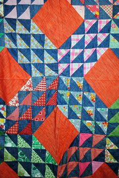 Handmade vintage quilt to be personalized with picture or scrapbook ideas