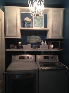 """Fantastic """"laundry room storage diy small"""" detail is offered on our internet site. Read more and you wont be sorry you did. Small Laundry Rooms, Laundry Room Design, Laundry Area, Laundry Basket, Laundy Room, Laundry Room Remodel, Laundry Closet, Basement Laundry, Laundry Tips"""