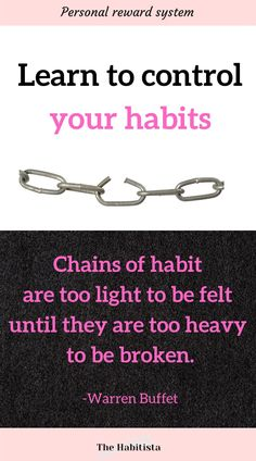 Learn what reward you are getting from a habit you can change it to something that gives you the same reward, but that aligns with your values and goals! how to make a habit   how to break a habit   building habits   life values   intentional living Life Values, Your Values, Healthy Habits, Healthy Life, Break A Habit, Reward Yourself, Reward System, How To Better Yourself, Goals