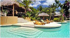 Jardin del Eden Hotel, Tamarindo Beach Costa Rica! Located in a small hill this hotel offers beautiful ocean views. My favorite in Tamarindo Beach
